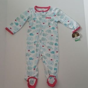 Child of Mine by Carter's- Whale Sleeper Jumper